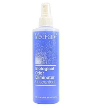 Odor Eliminator Spray 8 Ounce Medi-Aire Unscented Bard 7018U- 1 Each