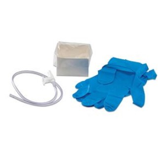 Case Argyle 14Fr Suction Catheter Kits 2 Nitrile Gloves 31479- Case/50