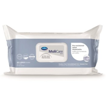 Case of Molicare Skin 9 x 13 Inch Personal Wipes 225600- Case/576