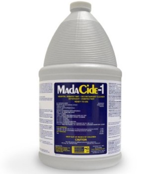 MadaCide-1 Surface Disinfectant Cleaner 1 Gallon Jug Mada 7009- 1 Each