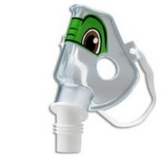 Tucker the Turtle Mask Pediatric SideStream Respironics 1044382- 1 Each