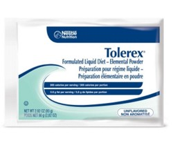 Oral Supplement Tolerex 80gm Packet Unflavored Nestle 04580500- 1 Each
