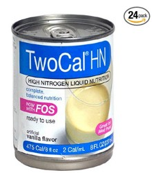 TwoCal HN Vanilla Oral Supp Tube Feeding Abbott 00729- Case/24