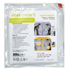 Zoll Stat-Padz II Electrode Pads AED Plus AED Pro 8900080101- 1 Pair