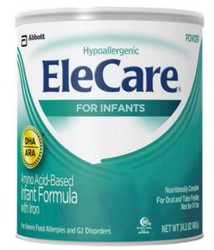 Infant Formula EleCare 14.1 Oz Can DHA ARA Abbott 55251- 1 Each