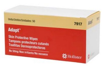 Adapt Wipe No Sting Skin Protective Barrier Hollister 7917- Box/50
