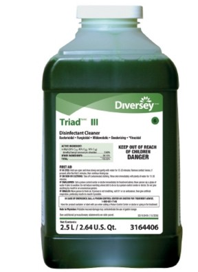 Triad III Cleaner Disinfectant 2.5 Ltr for J-Fill DVS3164406- Case/2