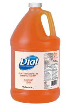 Dial Liquid Soap 1 Gallon Jug Antimicrobial Lagasse DIA88047- 1 Each