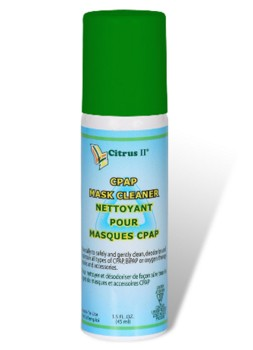 Citrus II CPAP Mask Cleaning Spray 1.5 oz Beaumont 635871164- Case/24