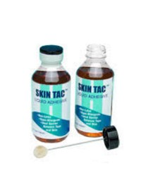 Skin Tac Liquid Adhesive 4oz with Brush Latex Free Torbot 407- 1 Each