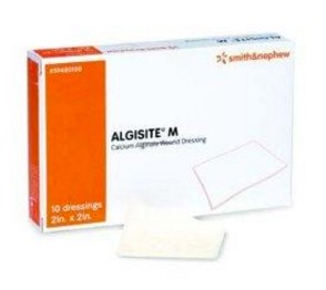Box of Calcium Alginate Dressing 2x2 AlgiSite M 59480100- Box/10