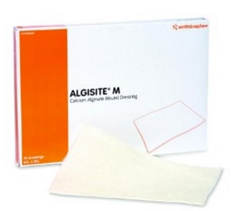 Calcium Alginate Wound Dressing 6x8 Inch AlgiSite M 59480300- 1 Each