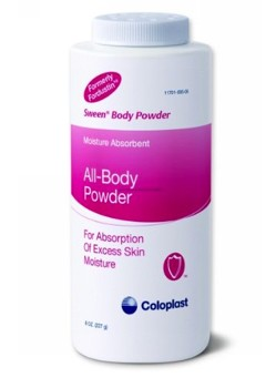 Sween Body Powder 8 oz Absorbs Perspiration Coloplast 0505- 1 Each