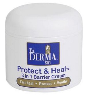Triderma Protect and Heal Barrier Cream 4oz Fragrance Free 28041- 1 Ea