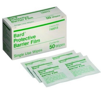 Bard Protective Skin Barrier Film Wipes Individual Pack 740013- 1 Each