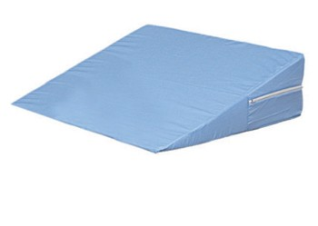 Wedge Bed Foam 12x24x24 Inch Blue with Cover DMI 80280271900- 1 Each