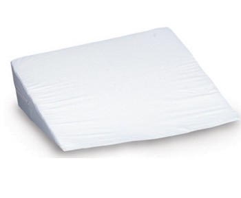 Wedge Bed Foam 7x24x24 Inch White with Cover DMI 80280261900- 1 Each