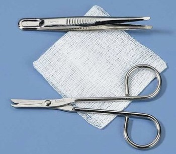 Kit Suture Removal Medikmark SR1000 Scissors and Forcep- 1 Each