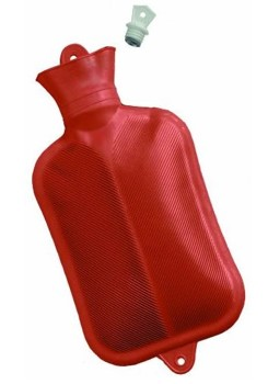 Hot Water Bottle 2 Quart Rubber Bottle Grafco 38671- 1 Each