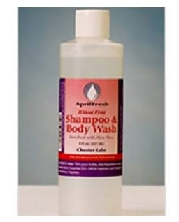 AprilFresh Shampoo and Body Wash 8oz Rinse Free FF002808- 1 Each