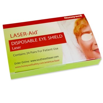 Eye Patch Laser Aid Eyeshield Honeywell Safety 318300- Box/24 Pairs