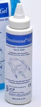 Omnisound Ultrasound Gel 250mL Dispenser Bottle 45539- 1 Each