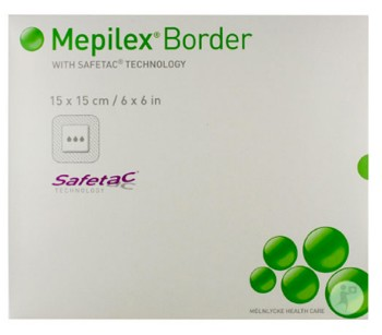 Box of Mepilex Border 9.2x9.2 Sacrum Foam Dressings 282400- Box of 5