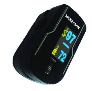 Finger Pulse Oximeter Digital Portable McKesson 1693651- 1 Each