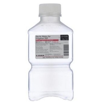 B Braun Sterile Water for Irrigation 1000mL Bottle R500001- 1 Each