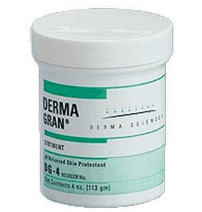 Skin Protectant Ointment Dermagran 4oz Jar Derma Sciences DG4- 1 Each