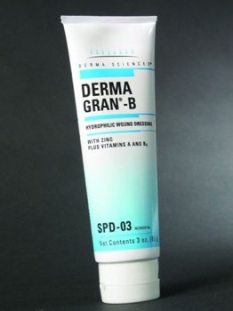 Dermagran Ointment 3oz Tube Hydrophilic Wound Dressing SPD03- 1 Each