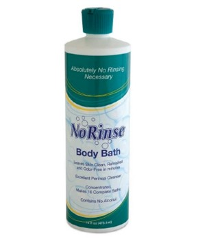 No-Rinse Body Bath 16 oz No Alcohol Scented Clean Life 2714129- 1 Each