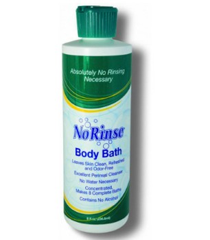 No-Rinse Body Bath 8 oz No Alcohol Scented Clean Life 3542297- 1 Each