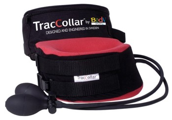 TracCollar Portable Neck Traction Collar Red Small/Medium- 1 Each