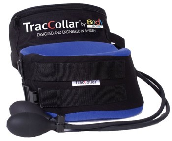 TracCollar Portable Collar Neck Traction Blue Large 16-18 Inch- 1 Each