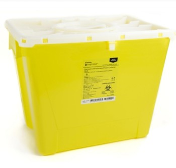 Case of Prevent Sharps Containers 8 Gallon Chemotherapy 2258- Case/9