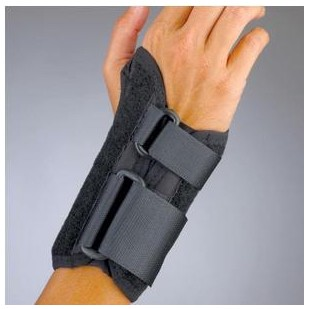 ProLite Wrist Splint 6 Inch Small Left Black BSN 22470SMBLK- 1 Each