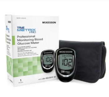 McKesson True Metrix PRO 4 Seconds Glucose Meter 06RE4051P00- 1 Each