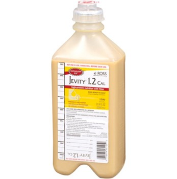 Case of Jevity 1.2 Cal 1500mL RTH Tube Feeding Formula 62667- Case/6