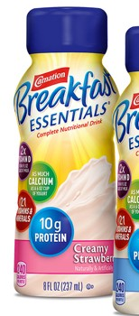 Carnation Breakfast Essentials 8 oz Creamy Strawberry 12230500- 1 Each