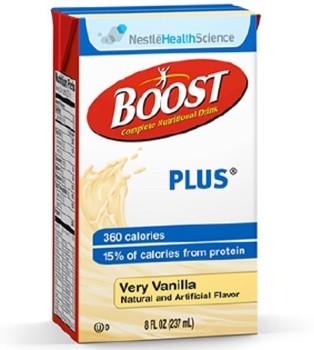 Nestle Boost Plus Oral Supplement Vanilla 8 oz 4390093138- 1 Each