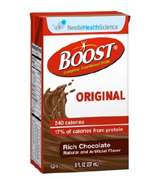 Boost Rich Chocolate 8 Oz Drink Tetra Brik Nestle 4390067538- 1 Each
