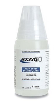 Alcavis 50 Disinfectant Renal Cleaning 250mL Angelini 15508- Case/24