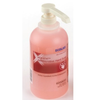 Medi-Stat Liquid Hand Soap Triclosan Free 540mL Ecolab 6000033- 1 Each