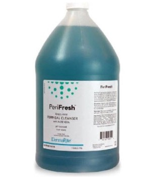 Case of PeriFresh Rinse Free Perineal Wash 1 Gallon Jug 00196- Case/4