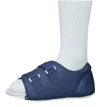 ProCare Post-Op Shoe Female 6 to 8 Medium Blue DJO 7990195- 1 Each