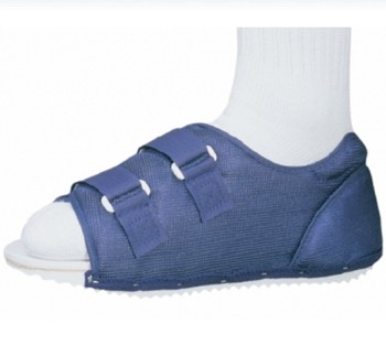 Post-Op Shoe ProCare Male 7 to 9 Small Blue Foam DJO 7990183- 1 Each