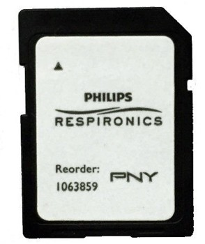 Respironics SD Data Card for CPAP BiPAP Units 1063859- Pack/10