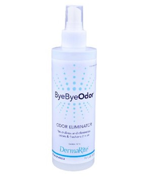 ByeByeOdor Odor Eliminator Liquid 7.5 oz Spray Dermarite 00258- 1 Each