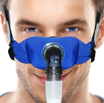 SleepWeaver Elan Nasal CPAP Mask for Men Small Blue 100728- 1 Each